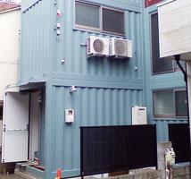 建築確認申請対応のオリジナル新造コンテナ_01