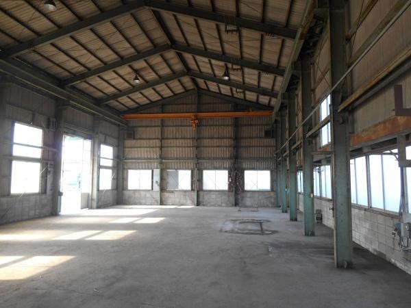 待望の新工場