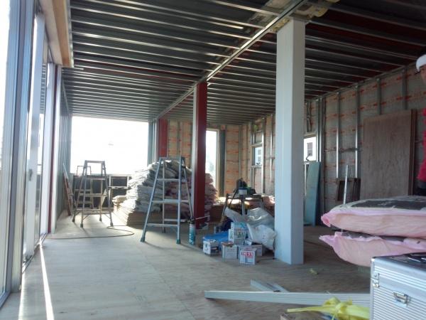 コンテナハウス内装工事