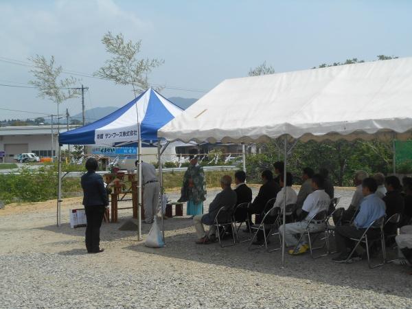 南三陸プロジェクトの地鎮祭