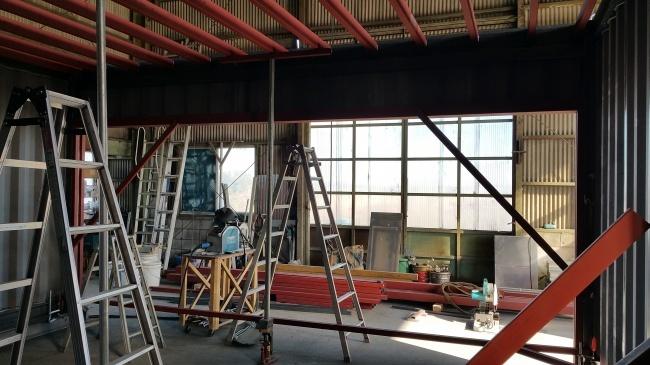 倉庫新築工事