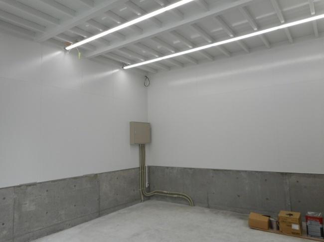 備蓄倉庫新築工事