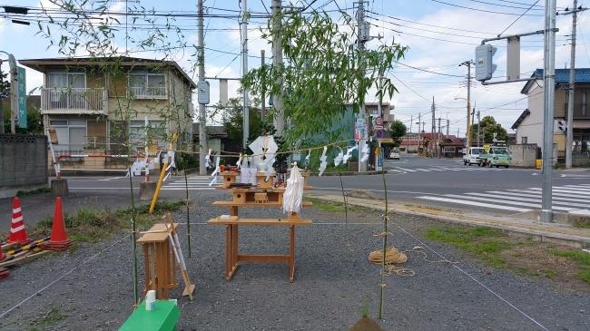 埼玉県行田市に建築になるフラワーショップ