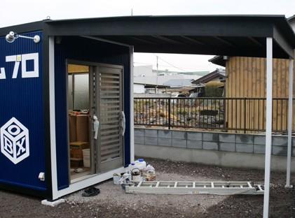 倉庫・ガレージ/施工例3