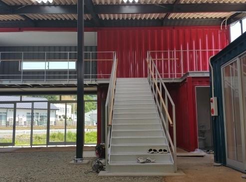 復興施設・災害用コンテナハウス/施工例5