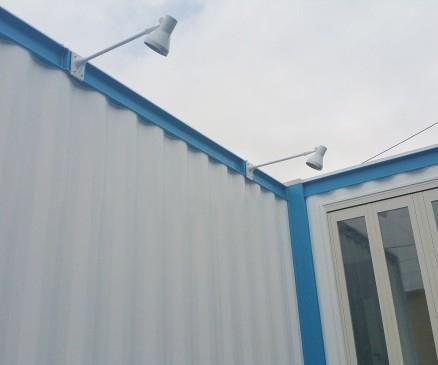 防音コンテナ施工例5