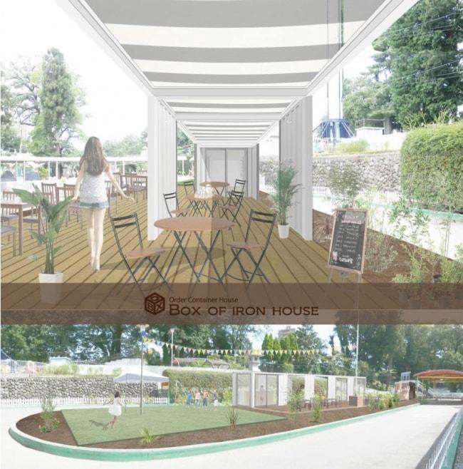 前橋市のテーマパークにコンテナハウスのフードスペースを計画中の画像1