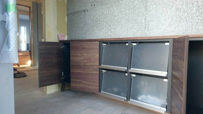 新事務所の玄関