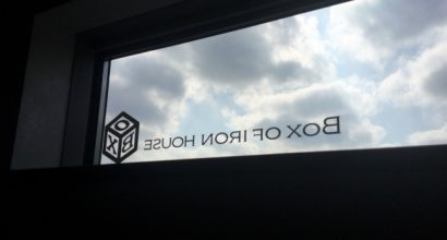 新事務所の窓